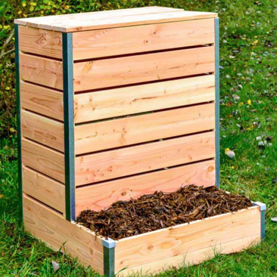 compost en bois