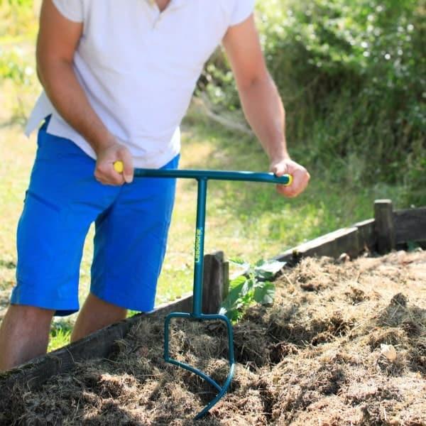 aerateur compost