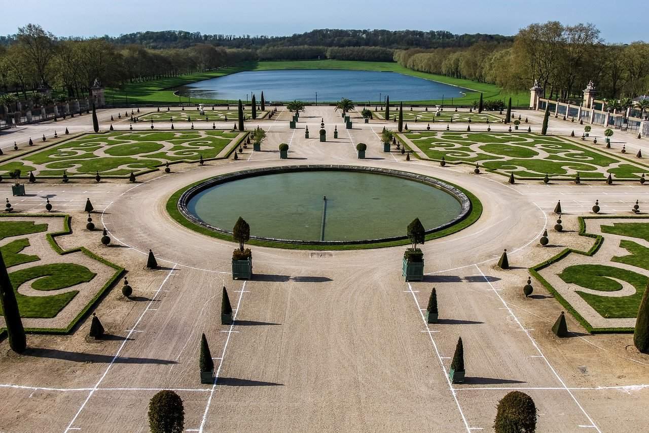 idée jardin à la française