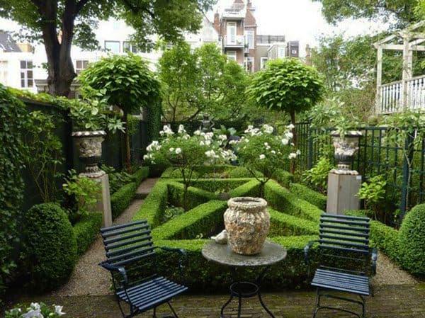 exemple de jardin à la française