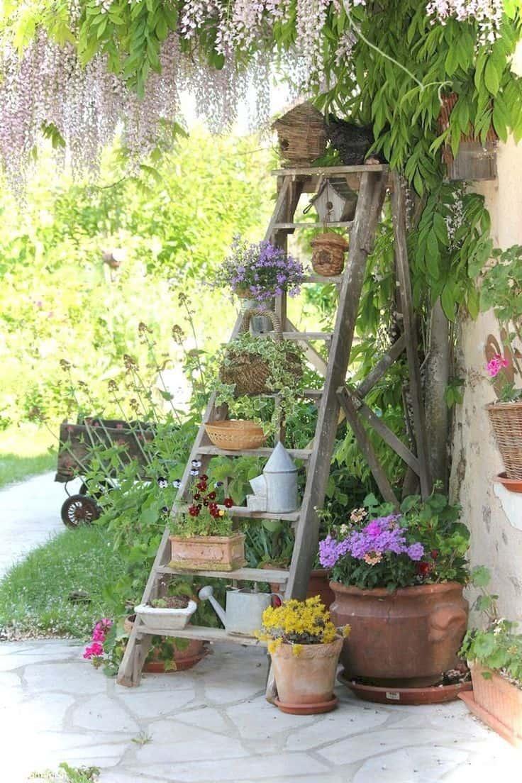 Le «mobilier» de jardin  jardin de curé
