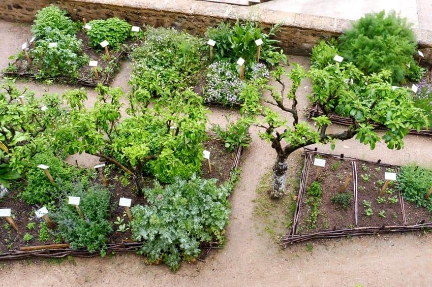 Prix de la réalisation d'un jardin médiéval