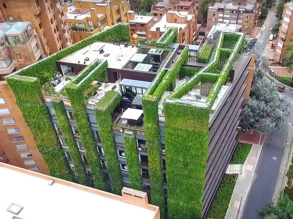 jardin vertical exemple