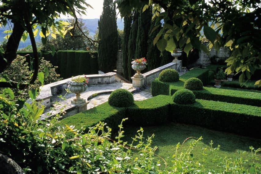 terrasse jardin italien