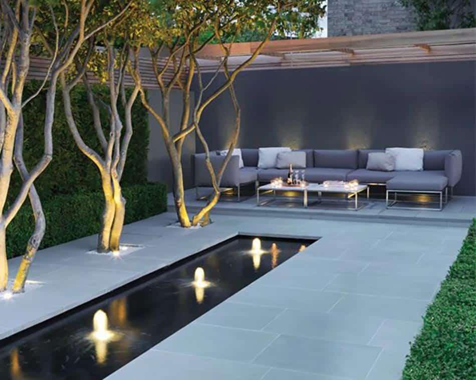 meubles jardin contemporain