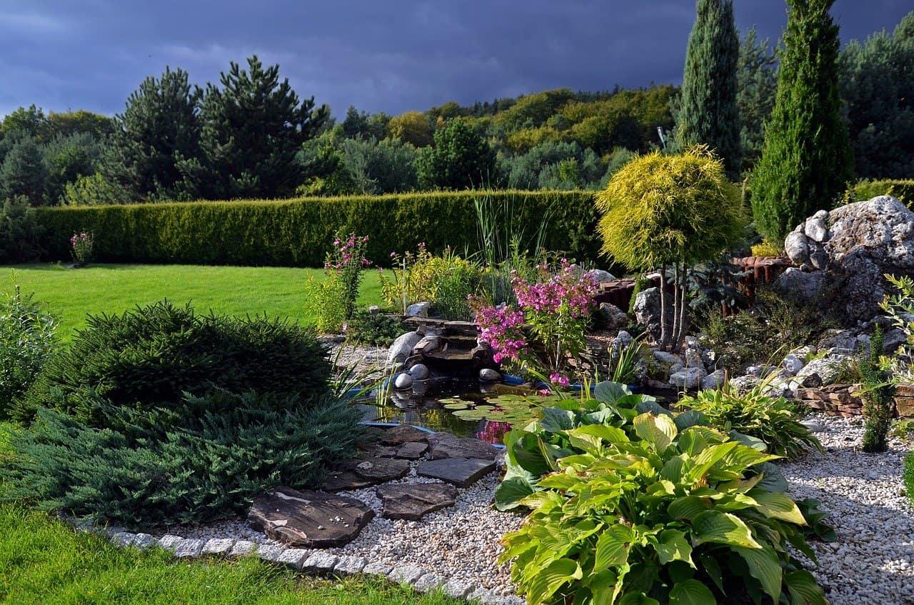 idée jardin de rocaille