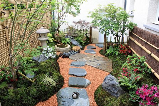 jardin japonais terrasse