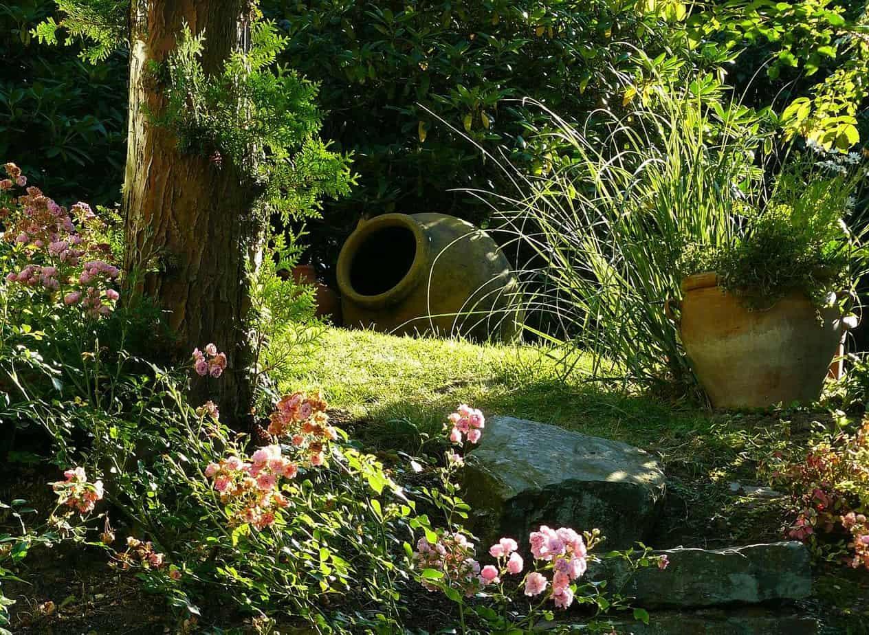 caracteristique jardin mediterraneen