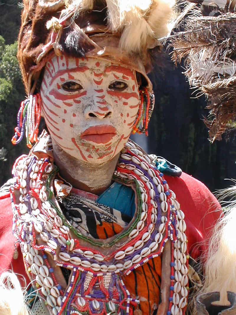 tribu des Kikuyus du Kenya