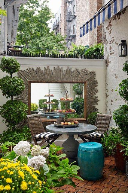 micro jardin de ville