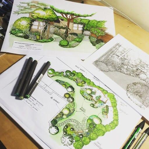 plan de jardin pro