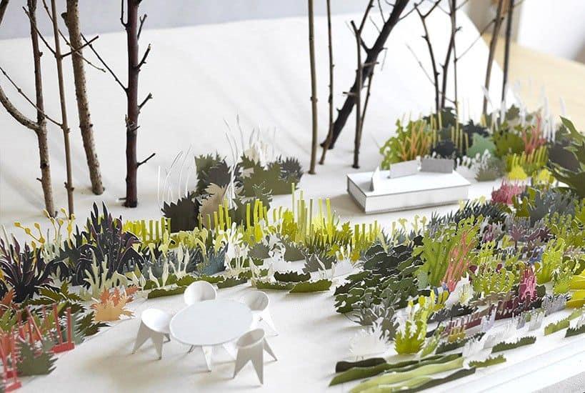 maquette de jardin