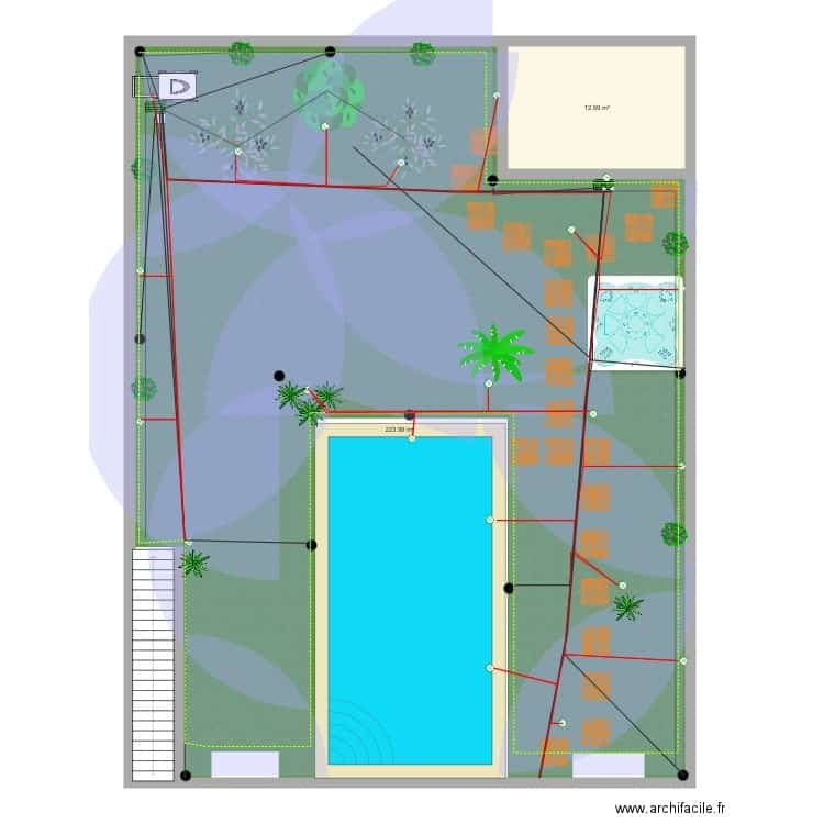 exemple plan de jardin
