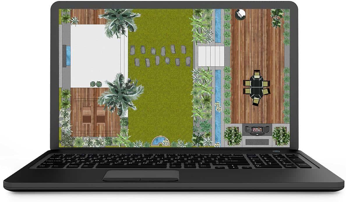 logiciel pour plan de jardin