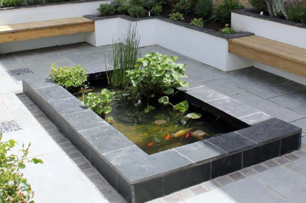bassin en béton