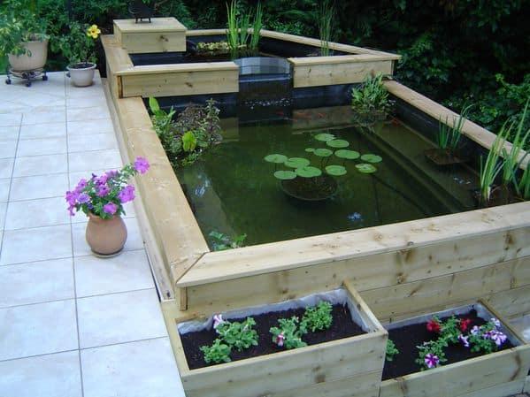 bassin en bois