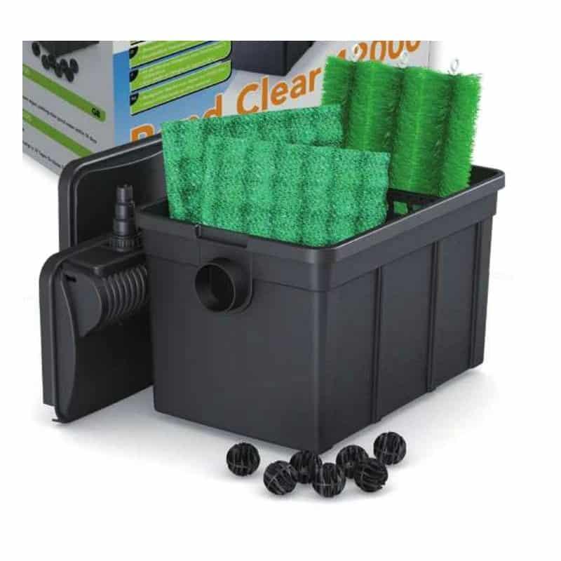 filtre pour bassin de jardin