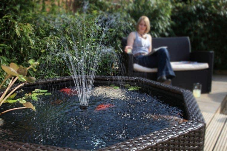 fontaine de jardin pas cher