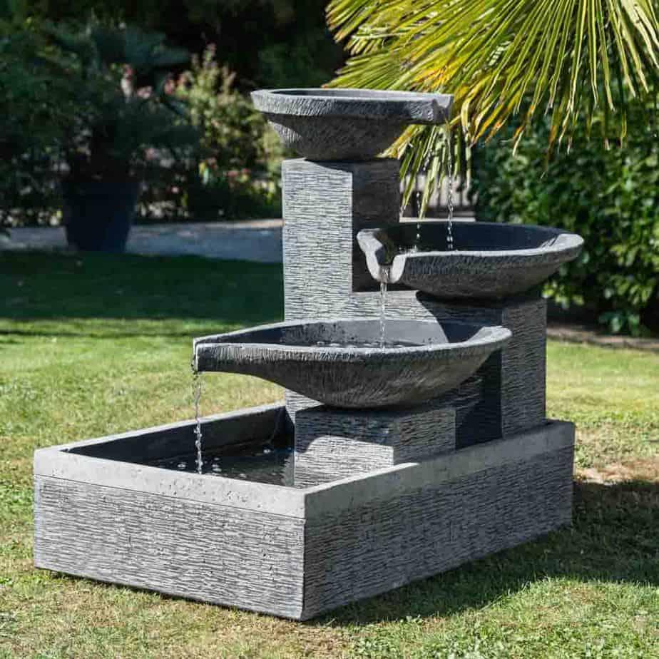 fontaine sur pied