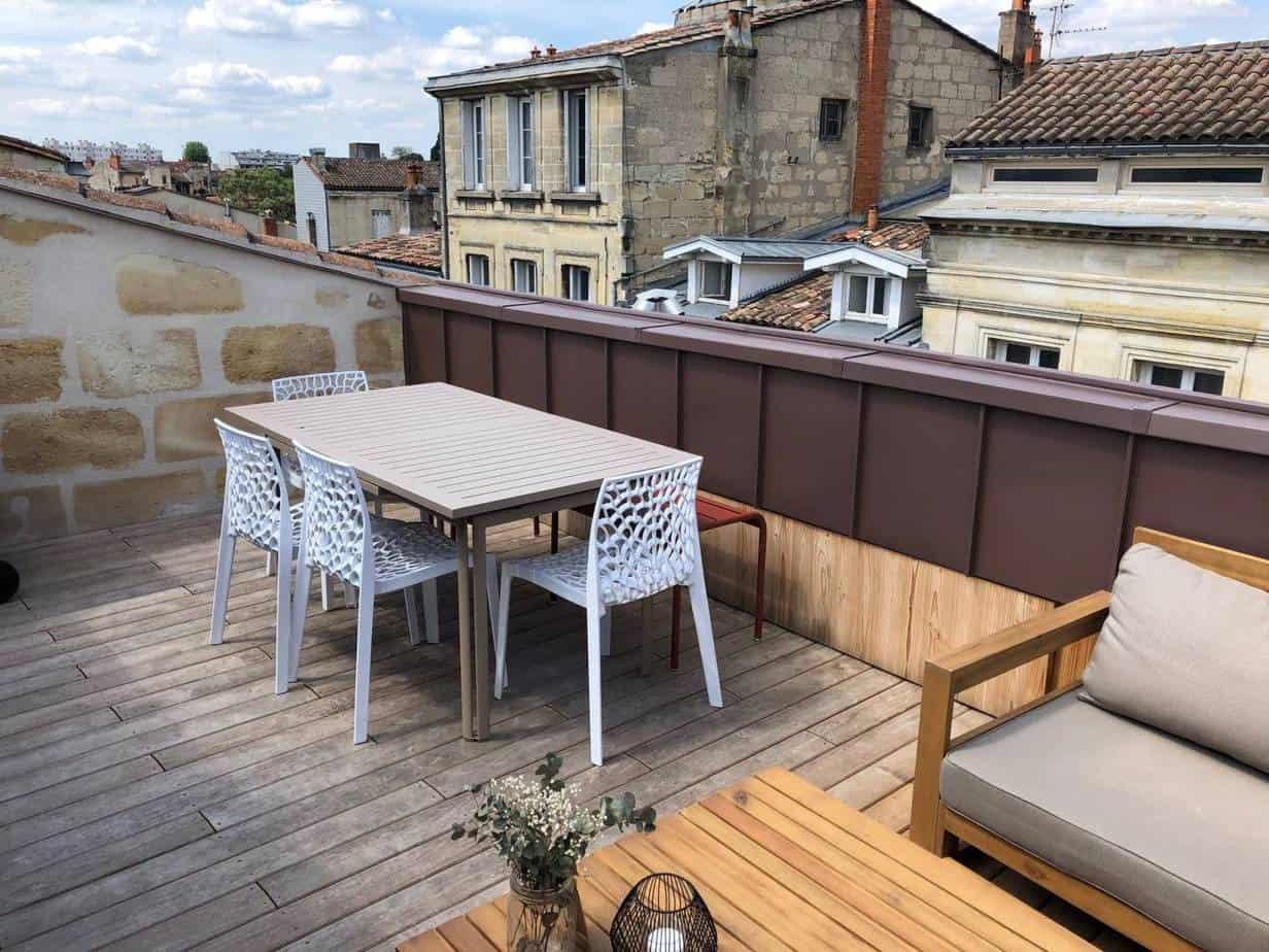 Photo terrasse tropézienne