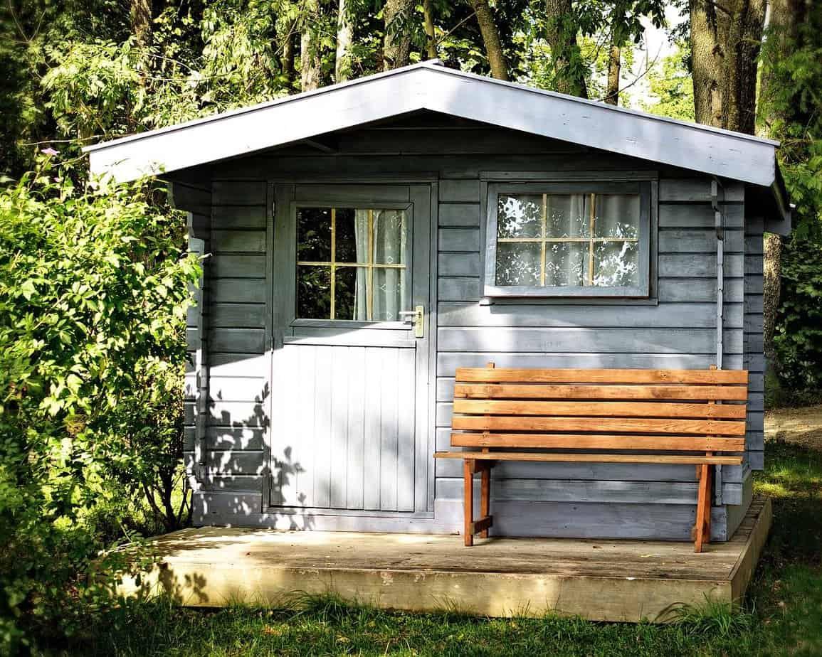toiture abri de jardin