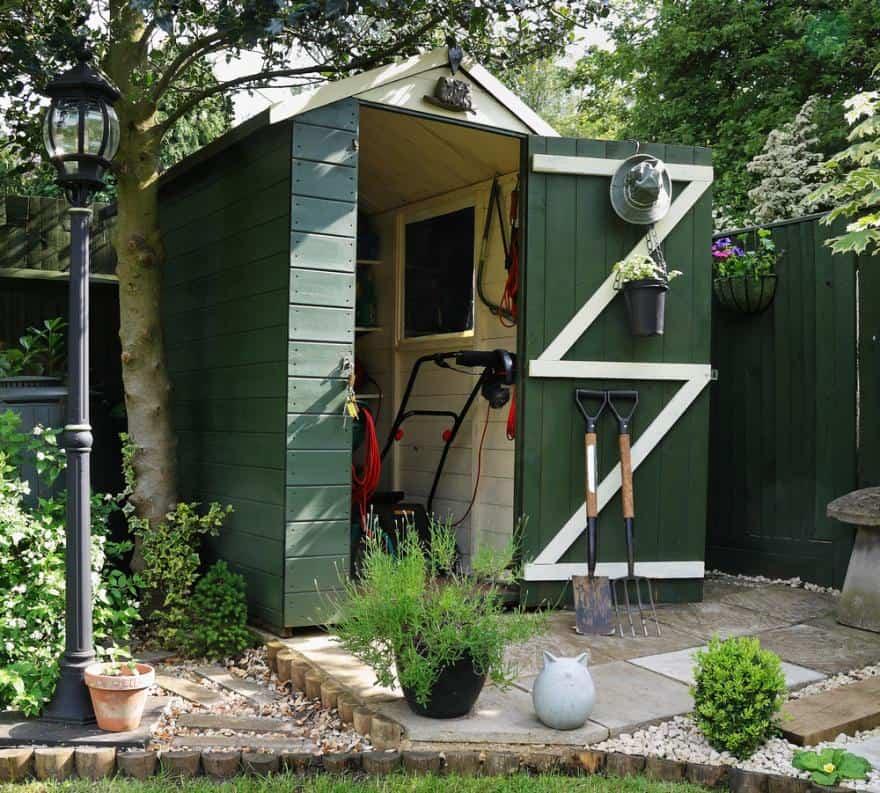 utilité abri de jardin