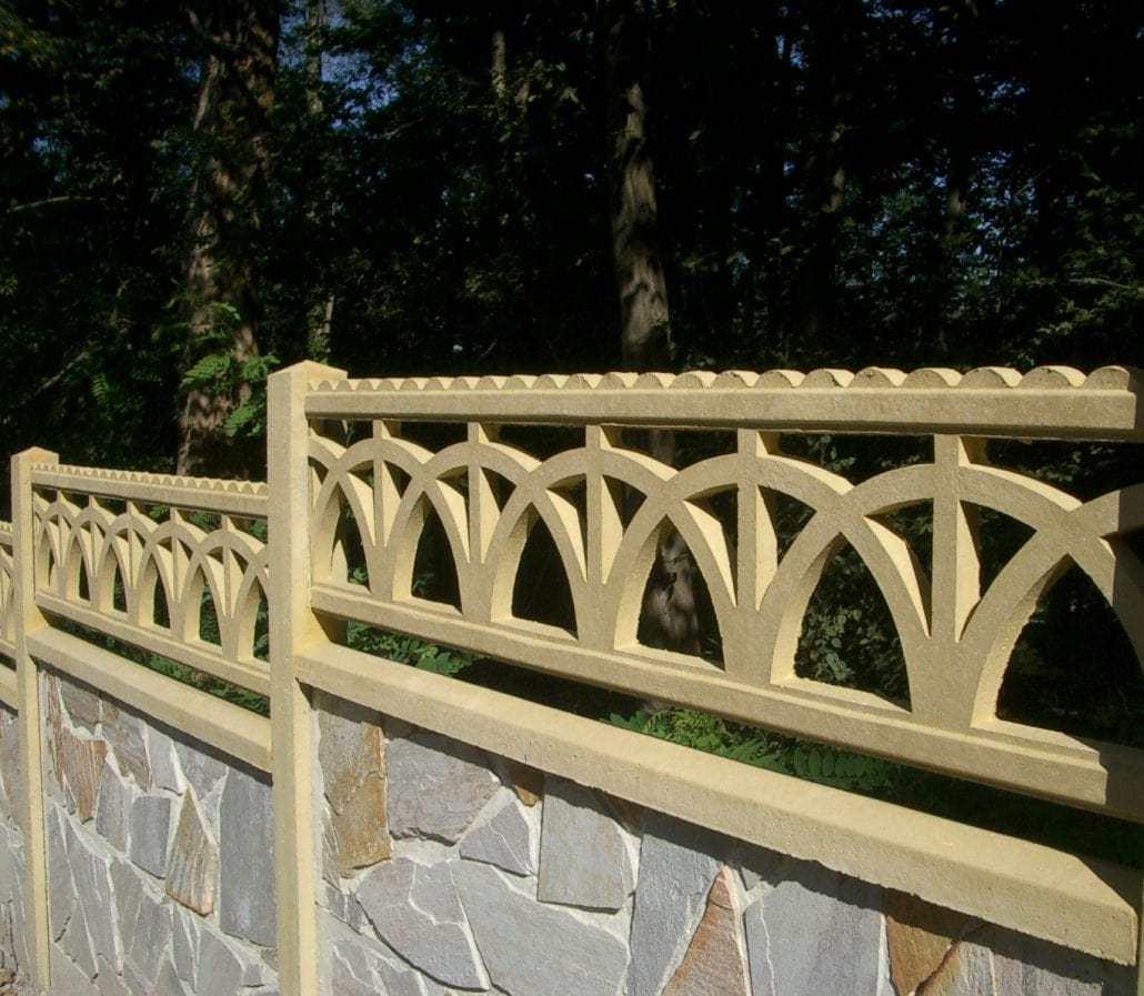 Photo clôture en béton