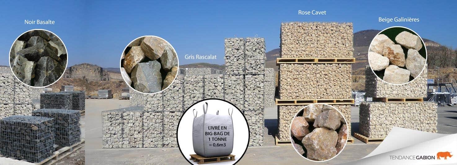 Photo sacs de pierres