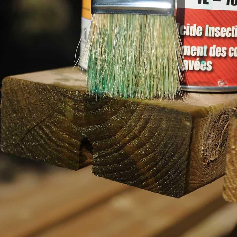 entretien clôture bois