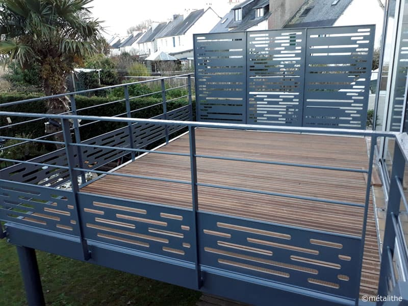corps terrasse aluminium