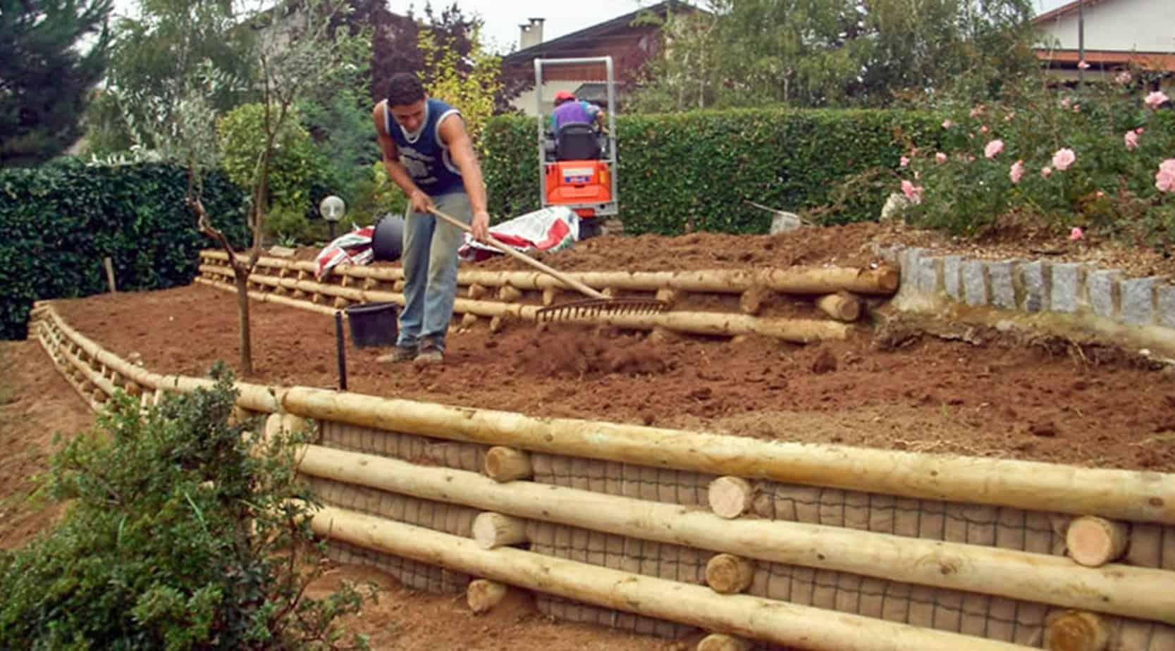 outils de terrassement