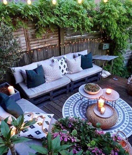 aménager un patio de jardin