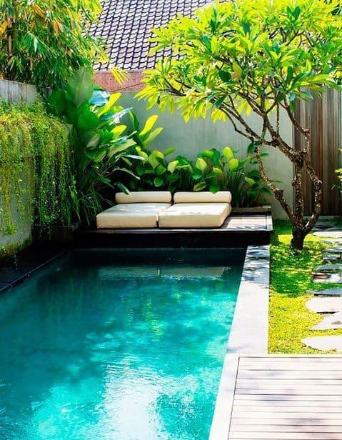 piscine de patio