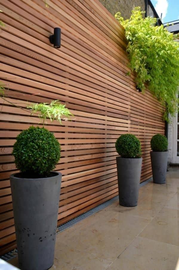 photo clôture en bois