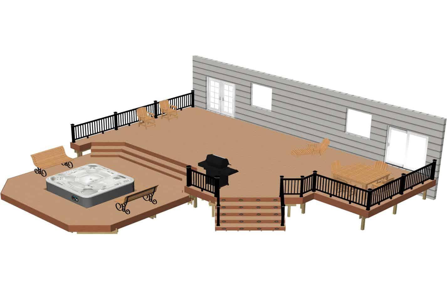 plan de terrasse