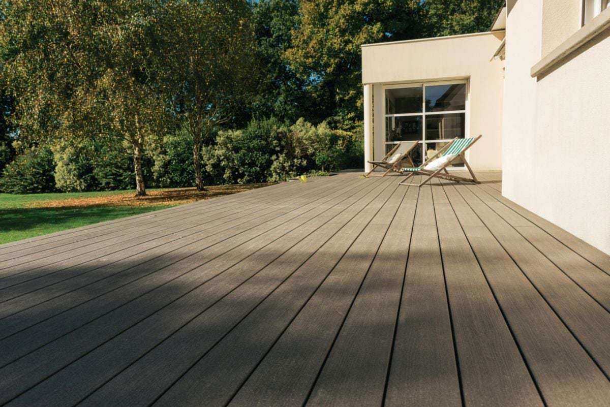 terrasse extérieur bois