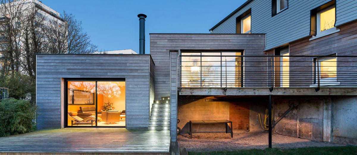 maison terrasse suspendue