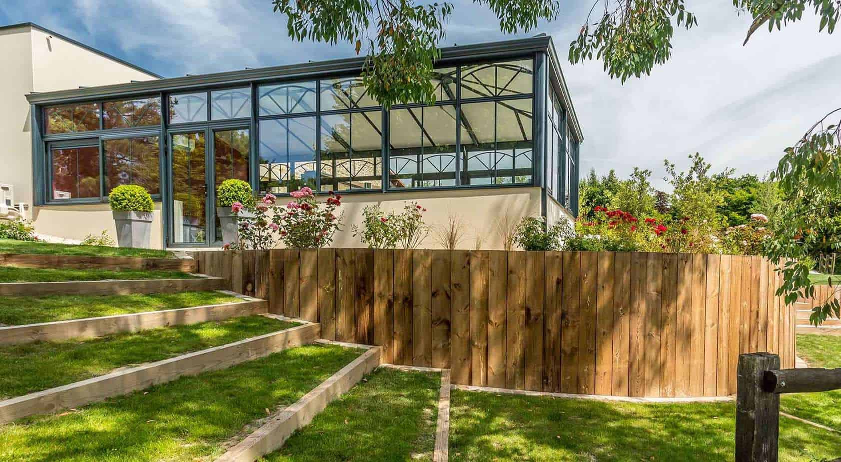 terrassement de jardin