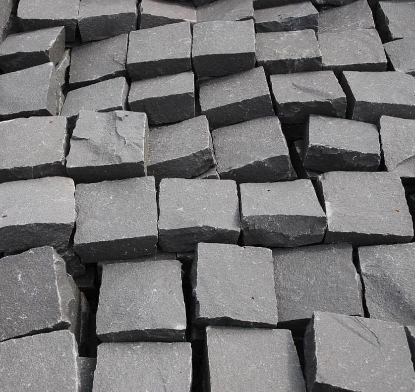 Dalles en basalte