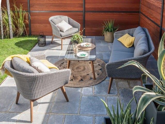 aménagement terrasse béton