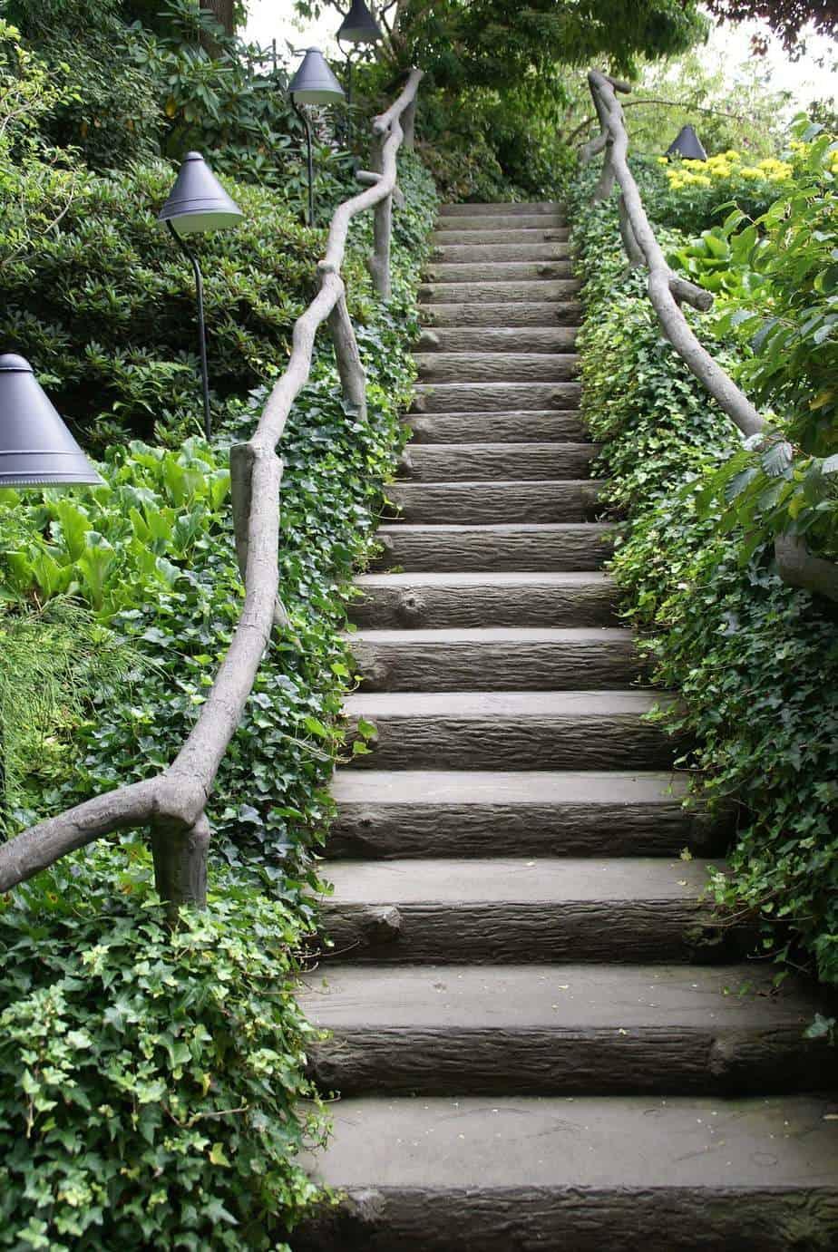 aménagement d'un escalier extérieur