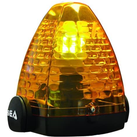 feux de signalisation orange portail