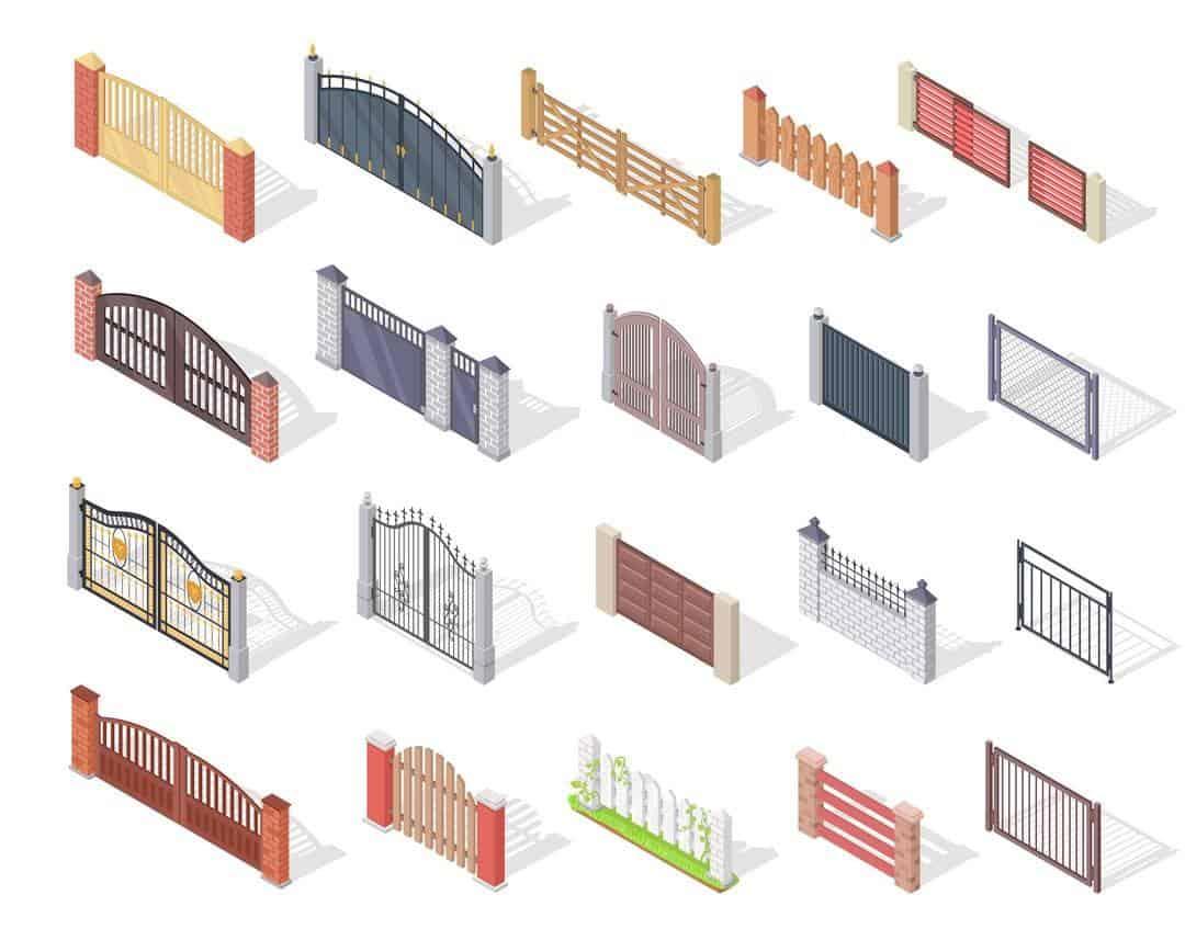 matériaux de portails