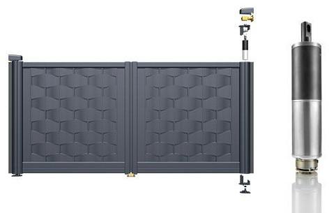 motorisation intégrée portail