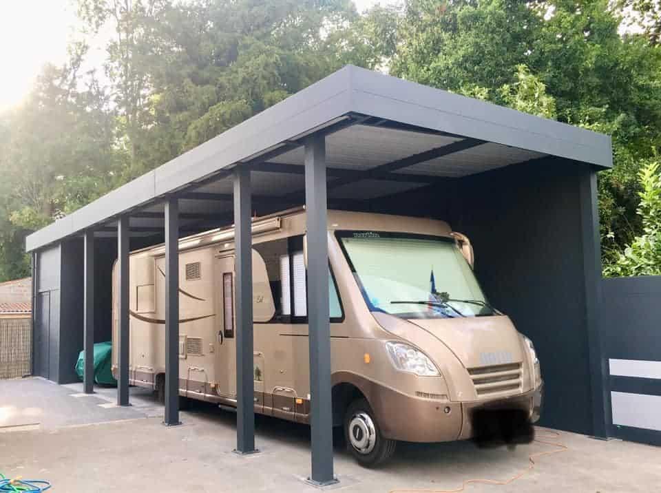 carport pour camping car