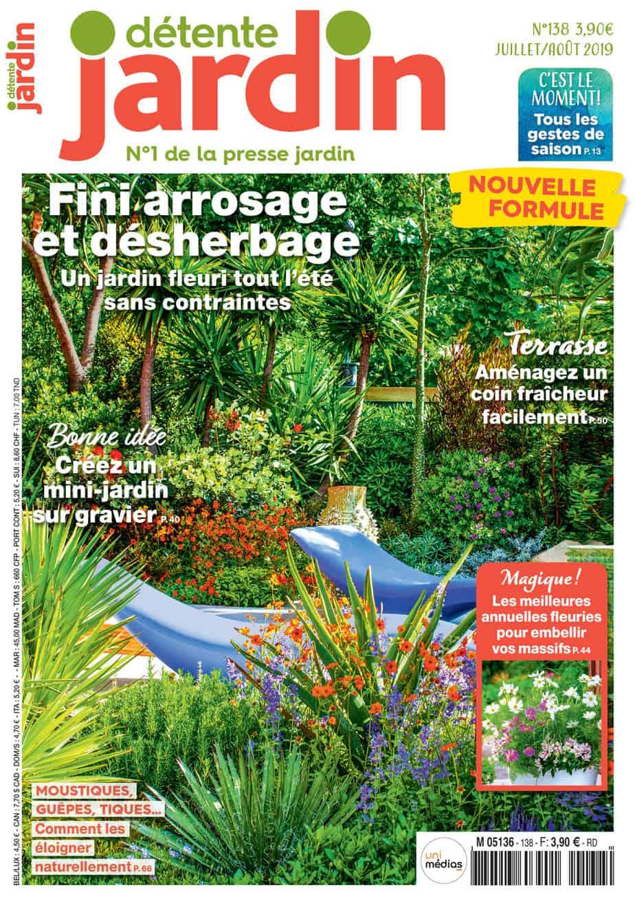 magazine detente jardin