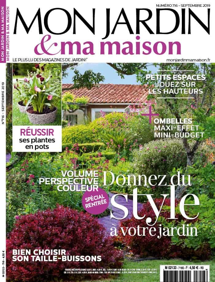 magazine mon jardin ma maison
